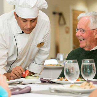 Assisted Living Gourmet Dining